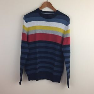 tommy rainbow striped sweater